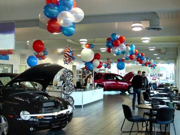 car dealership balloons  DuraBalloons on Car Dealerships | DuraBalloons Strong No Helium Balloons